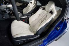 2015 Lexus RC F - interior left front