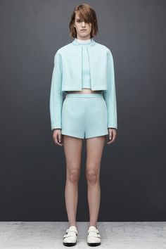 T by Alexander Wang Resort 2014 Collection Slideshow on Style.com