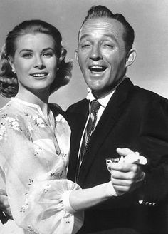 GraceKelly and Bing Crosby in High Society - 1956 I love those pictures where they are always singing..