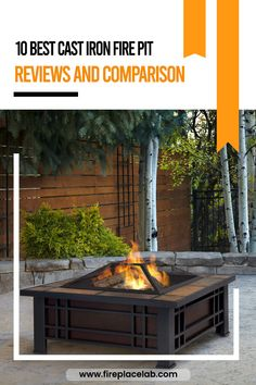 60 Cast Iron Fire Pits Ideas In 2021 Cast Iron Fire Pit Iron Fire Pit Fire Pit