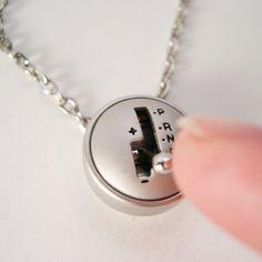 YOU Drive Me Crazy - Moving Mini Stick Shift Necklace. $19.99, via Etsy.