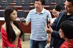 รูปภาพ: Chinese inventor unveils 'Jia Jia', the most realistic robot ever ...