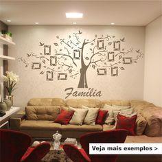 Adesivo Decorativo Árvore Genealógica | 6Formas Adesivos Decorativos | Elo7