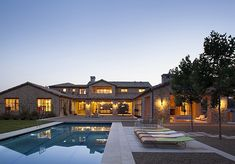 French country inspired farmhouse in California: Stone Maison
