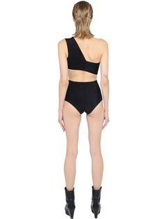 Rick Owens SS15 One Shoulder Swimsuit