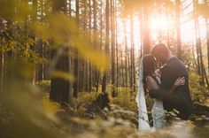 The bride and groom, Jillian and Shawn, sneak off into the sunset for one incredible couple photo Wedding Couple Photos, Wedding Couples, Wedding Engagement, Wedding Ideas, Magical Wedding, Dream Wedding, British Columbia, Wedding Bells, Love