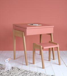 bureau vintage années 50 jaune et gris paul - meubles et mobilier ... - My Design Meuble