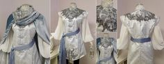 """We brought an original character to life for a customer. She described her as """"A Moon Elf Queen who rides dragons. Her outfit needs to be practical and beautiful!"""" For her jacket overlay we are usi..."""
