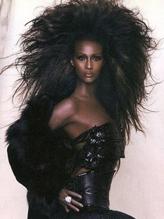 IMAN..Beautiful & Stunning