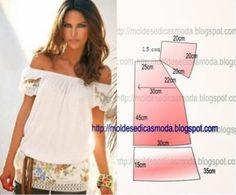 Moldes para hacer blusas de verano para dama01