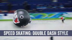 Speed Skating: Mario Kart Double Dash Style