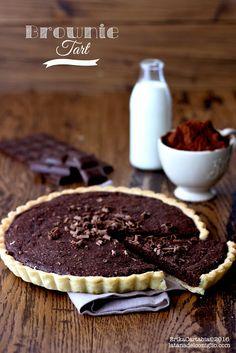 La tana del coniglio: Brownie Tart
