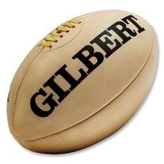Gilbert Vintage Leather Rugby Ball Imagem De Bola 3978d131a18