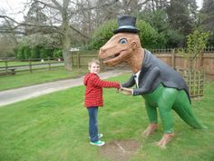 Dinosaur Adventure near Norwich. Lots of fun for the family and one of our top days out, visit the link to read reviews by parents #daysout #norfolk