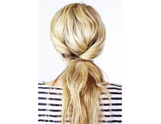 inverted twisted pony via @byrdiebeauty
