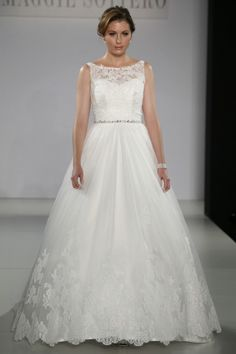 *Willow* maggie sottero wedding dress    If I can't have my Amsale Dress this WILL be my dress! The Lace! The ball gown! The neckline! Just perfect!! :)