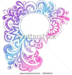 Cute Doodles In Notebook | ... Sketchy Notebook Doodle Drawing Vector Illustration - stock vector