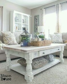 Love the coffee table!