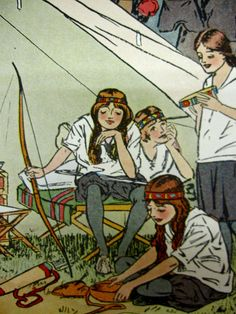 Campfire Girls    Started in 1910