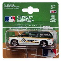Top Dog 1:64 Chevy Suburban - MLB Oakland Athletics