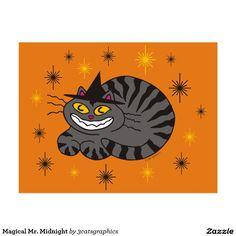 Magical Mr. Midnight Postcard