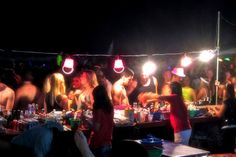 CRAZY! Full moon party of koh phangan