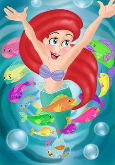 mickeyandcompany.tumblr art | Disney - The little mermaid on Pinterest | Ariel, The Little Mermaid ...