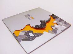 .Unique cutout brochure