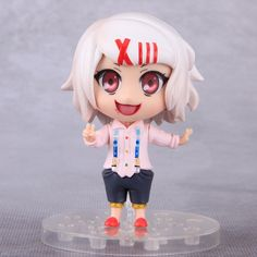 Anime Tokyo Ghoul Figure 10cm Q Version Juzo Suzuya / REI Cosplay PVC Action Figures Collectible Model Toys Doll With Box