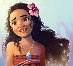 Moana by pianorei on DeviantArt Deco Disney, Disney Love, Disney Magic, Disney Pixar, Walt Disney, Moana Disney, Princess Moana, Disney Princess Art, Disney Fan Art