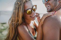 Couple - sunglasses - gafas de sol - playa - sol - andalucia - couple