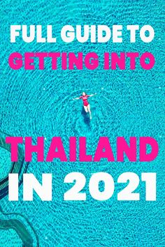 Everything you need to know to get in to Thailand in 2021. The sandbox program in Phuket is the best way to get into Thailand this year, but it is complicated and you do need to be up to date. We found information was scattered everywhere, so we have brought it altogether into one epic guide to help you get started with travelling Thailand in 2021!
