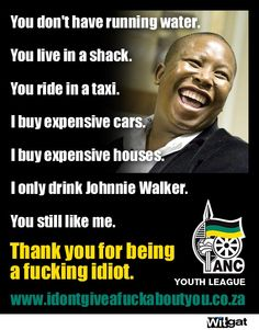 Julius Malema, former ANC youth leader. News South Africa, Youth Leader, Expensive Houses, Haha, Funny Quotes, Life, Afrikaans, Fleas, Cry
