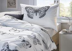 Bettwäsche im Schmetterlingsdesign - ein zauberhafter Blickfang
