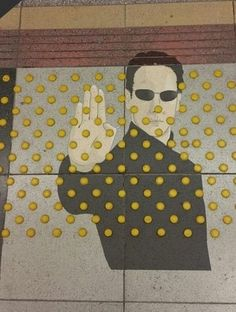 This street art caught my attention