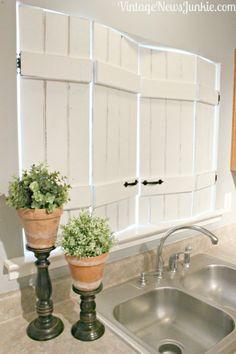 tutorial. DIY window treatments, window treatment ideas,curtain ideas,, Inexpensive Window Treatments, Feminine window treatments, shower rod
