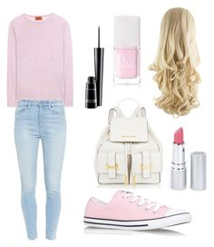 """""""Casual School day"""" by viinxx on Polyvore featuring Missoni, Converse, Paige Denim, HoneyBee Gardens, Christian Dior and MAC Cosmetics"""