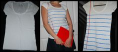"""""""Lined Paper Tee"""" #howto #tutorial"""
