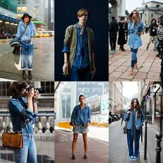 If You're Thinking About….. Denim on Denim