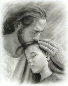 My Child Print) - Deseret Book Christian Artwork, Christian Images, Jesus Art, God Jesus, Literary Love Quotes, Image Jesus, Gods Princess, Jesus Photo, Jesus Wallpaper