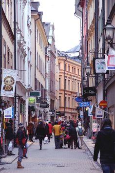 Stockholm, January 2014 by Hunajaista blogger Riikka.