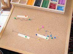 Ecole et Cabrioles, une école Montessori à la maison : Géométrie