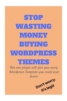 How to save money on buying WordPress themes
