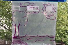 Can you make it rain inside.  A fun inside day experiment and craft.