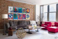 Art contemporain dans un loft à New York | | PLANETE DECO a homes worldPLANETE DECO a homes world