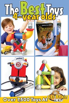 Best Toys For 4 Year Olds In 2019