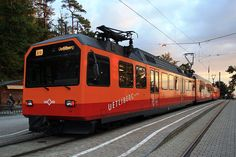 #Zurich-Uetliberg tram Light Rail, Switzerland, Bahn, Transportation, City, Community, Holiday, House, Haus