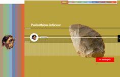 La ligne de temps archéologique interactive de l'Inrap
