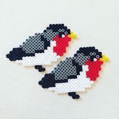 Birds hama beads by annawoll
