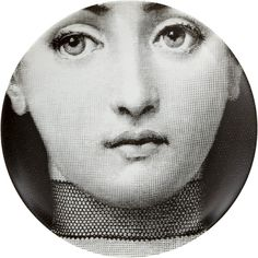"Plate 220 from Piero Fornasetti's ""Theme and Variations"" series"